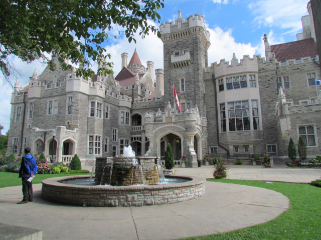 Casa loma castle toronto ontario part 1 for Casa loma mansion toronto