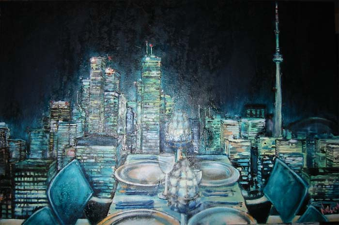 Michael Nelson, Toronto Night Scene