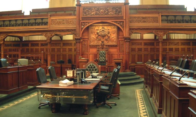 LEGISLATIVE ASSEMBLY OF ONTARIO Legislative Chamber Fall 2008 Part 3 Of 6